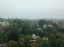 The Woodrow Wilson School in the distance