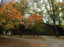 Nassau Hall from the front