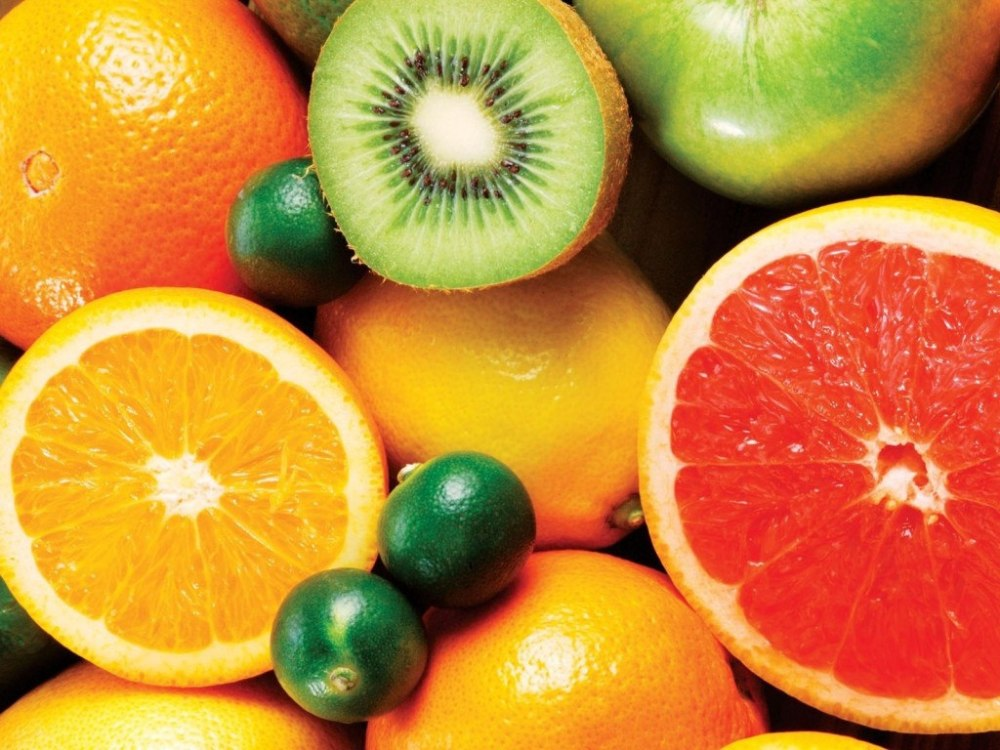 Vitamin C rich citrus fruits