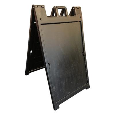 36 x 24 Black Plasticade A-Frame