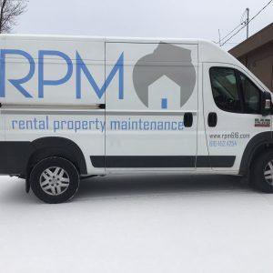 Vehicle Wrap - RPM Rental Property Management