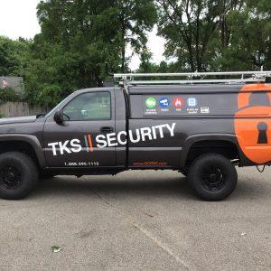 Truck Decals - TKS Security