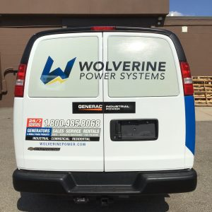Vehicle Wrap - Wolverine Power Systems