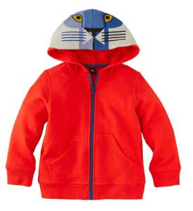 A hoodie pick
