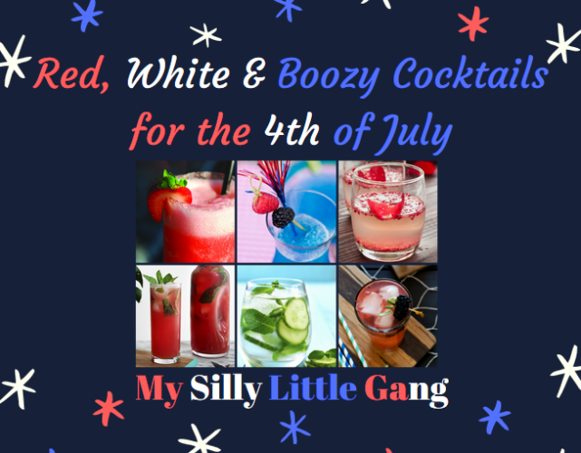 Red, White & Boozy Cocktails for the 4th of July