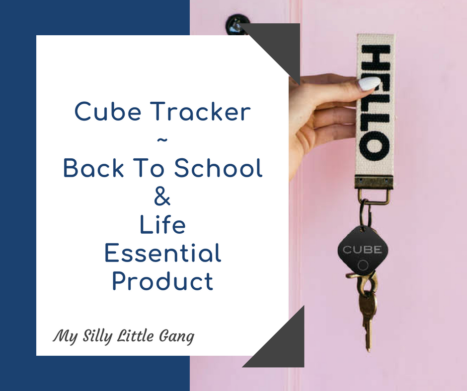 Cube Tracker ~ Back To School & Life Essential Product