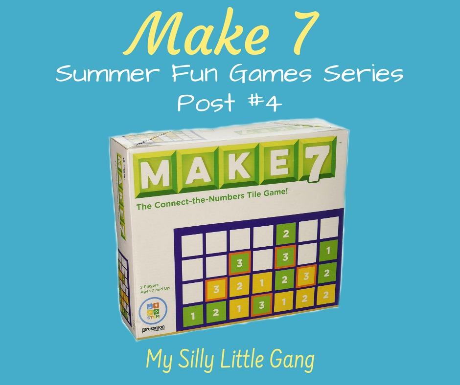 Make 7 ~ Summer Fun Games Series Post 4