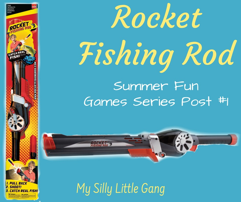 Rocket Fishing Rod ~ Summer Fun Games Series Post 1