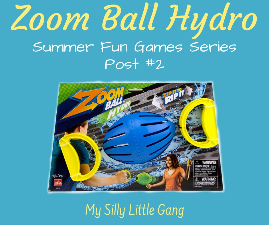 Zoom Ball Hydro ~ Summer Fun Games Series Post #2