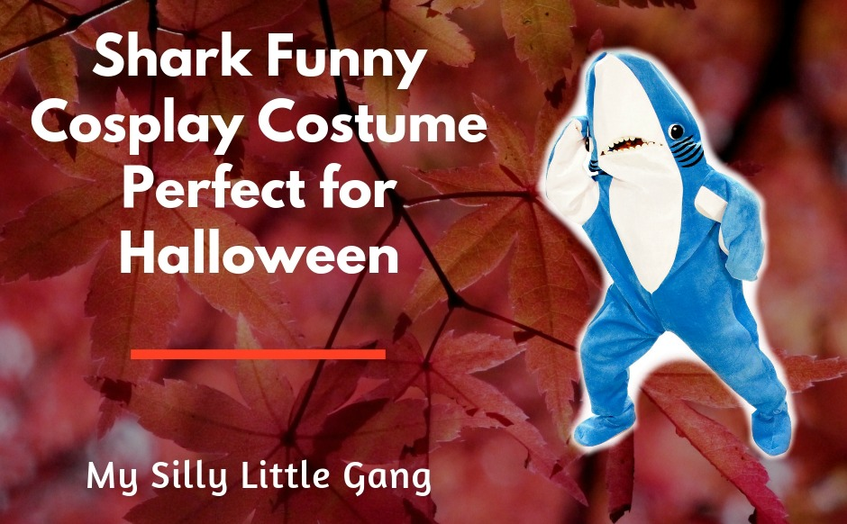 Shark Funny Cosplay Costume Perfect for Halloween