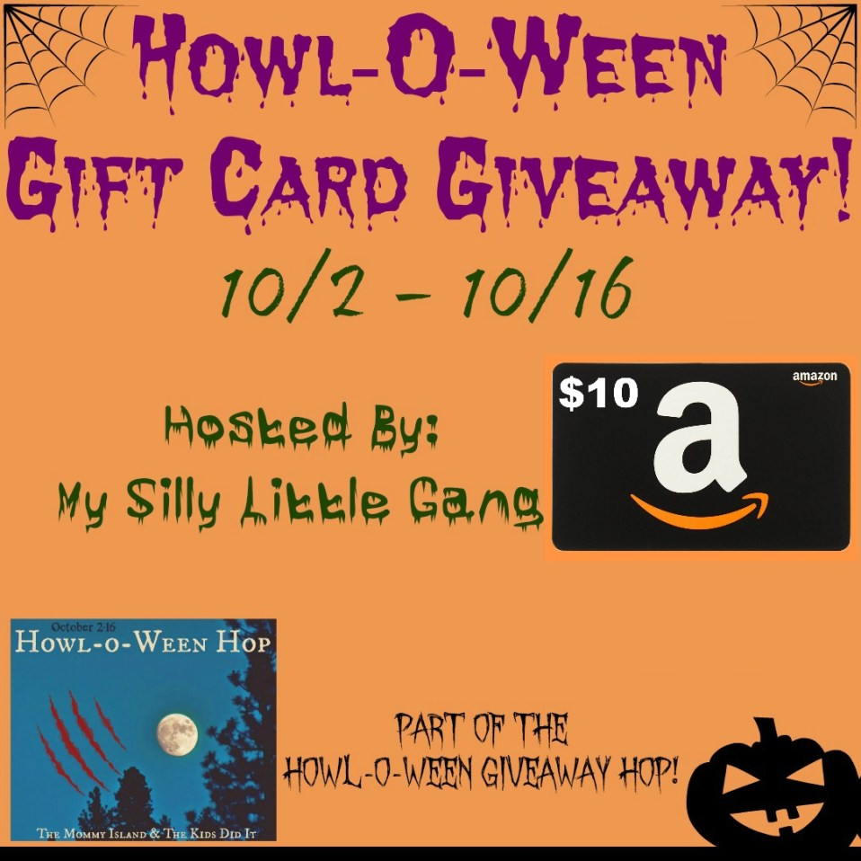 Howl-O-Ween Gift Card Giveaway & Giveaway Hop