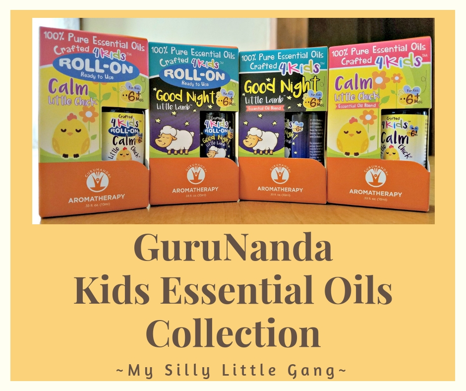 GuruNanda Kids Essential Oils Collection