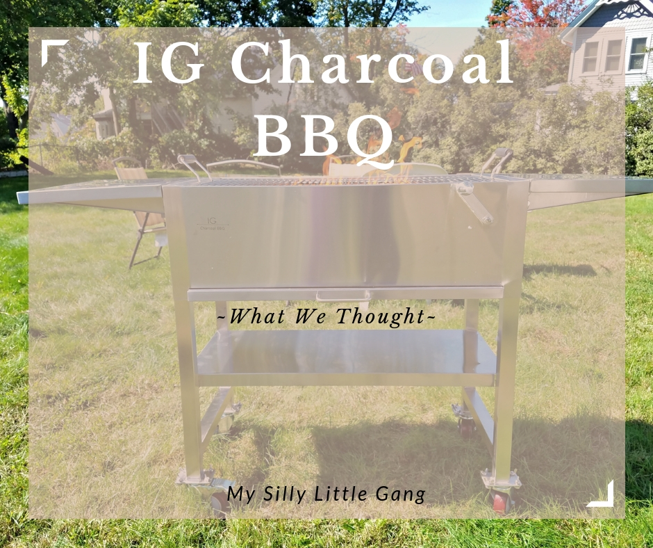 IG Charcoal BBQ ~ What We Thought