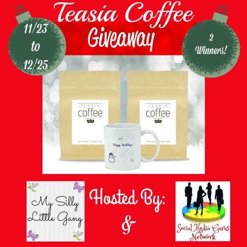 Teasia Whole Bean Coffee Review & Giveaway