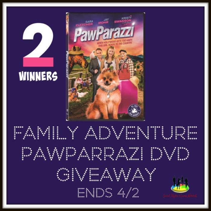 Family Adventure PawParrazi DVD Giveaway Ends 4/2 @Lionsgateathome @s8r8l33 @las930