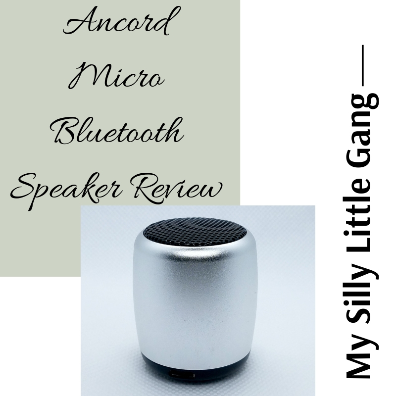 Ancord Micro Bluetooth Speaker Review @SMGurusNetwork #MOMDADGRAD19 #MySillyLittleGang