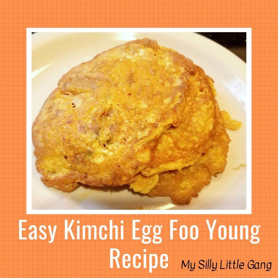 Easy Kimchi Egg Foo Young Recipe #MySillyLittleGang #Keto @Nasoya