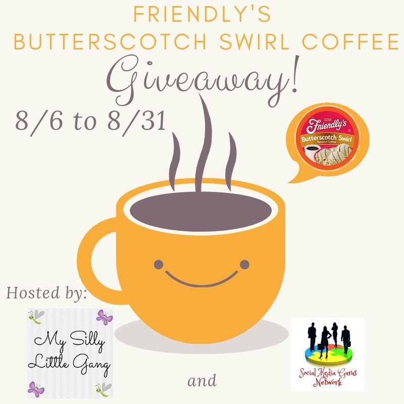 Butterscotch Swirl Coffee Giveaway ~ Ends 8/31 #friendlyscoffee #MySillyLittleGang @SMGurusNetwork