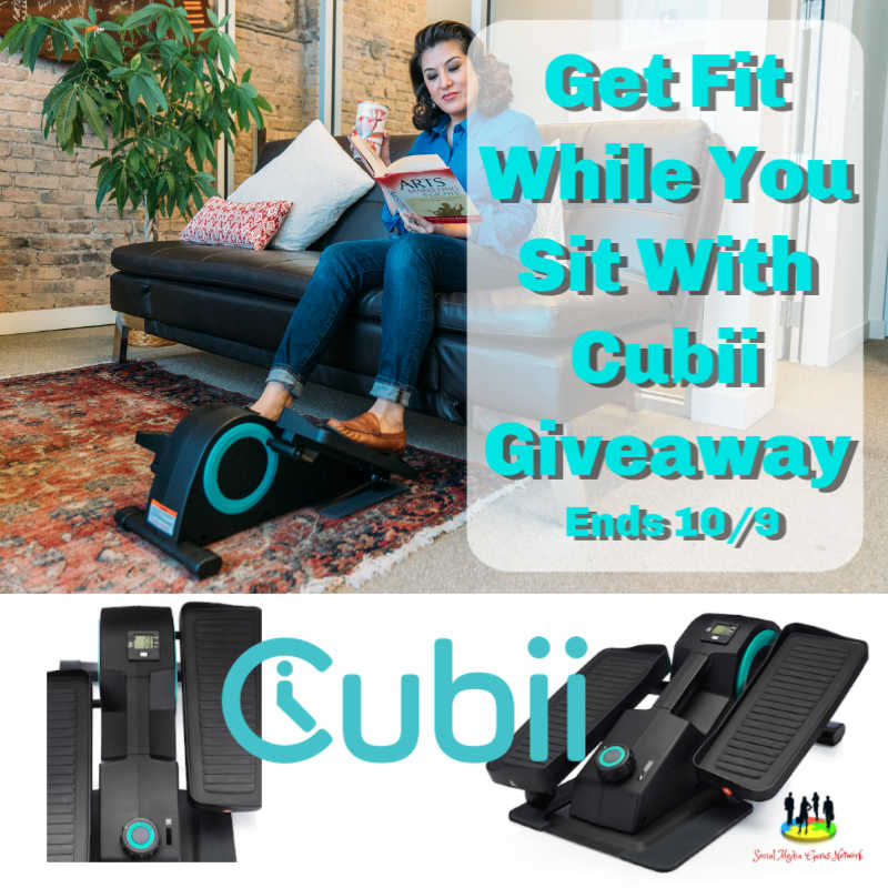 Get Fit While You Sit With Cubii Giveaway ~ Ends 10/9 @SMGurusNetwork @las930 @cubii #MySillyLittleGang
