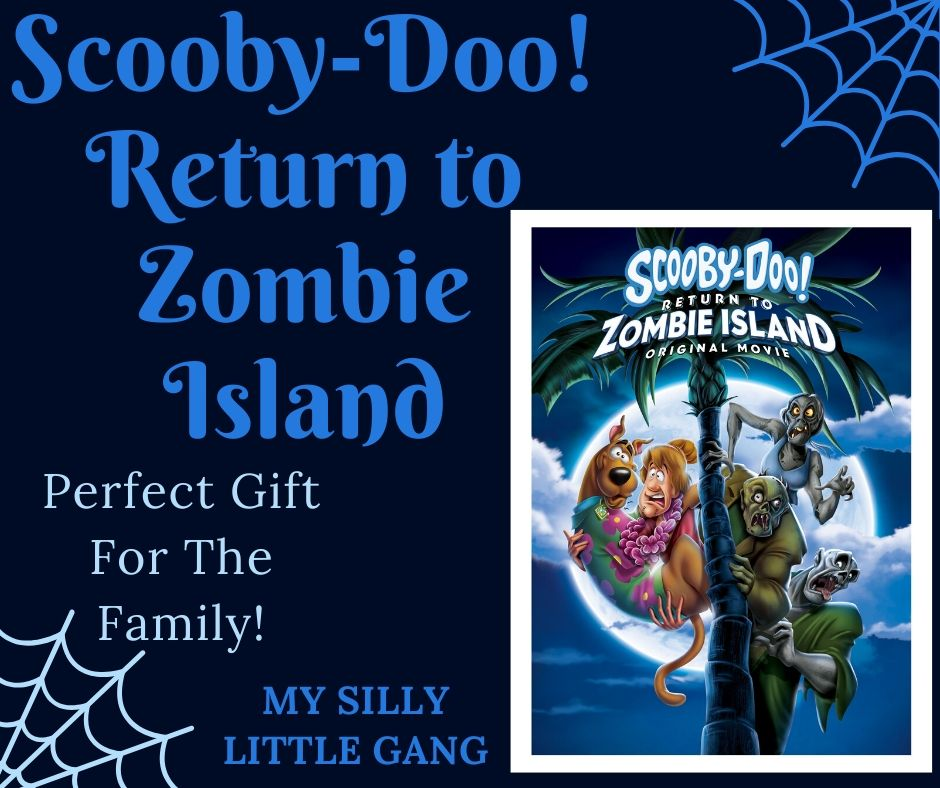 The latest addition to our Scooby-Doo library is Scooby-Doo! Return to Zombie Island. Keep reading to see why we think it's the perfect gift for the family. #WBPartner #Sponsored #MySillyLittleGang