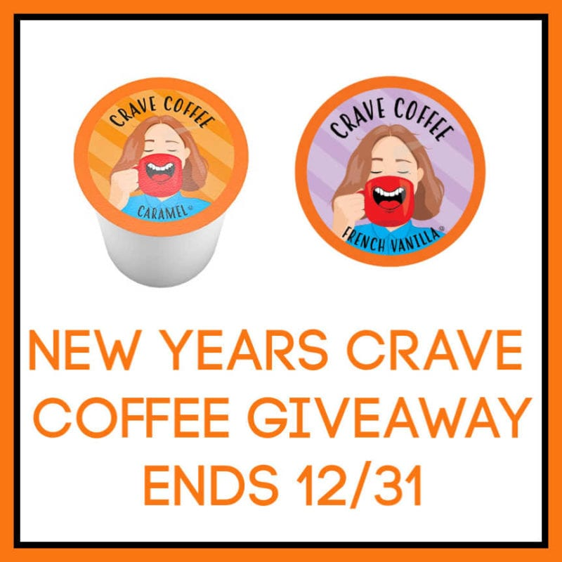 New Years Crave Coffee Giveaway ~ Ends 12/31 @SMGurusNetwork @las930 @BrooklynBeans1 #MySillyLittleGang
