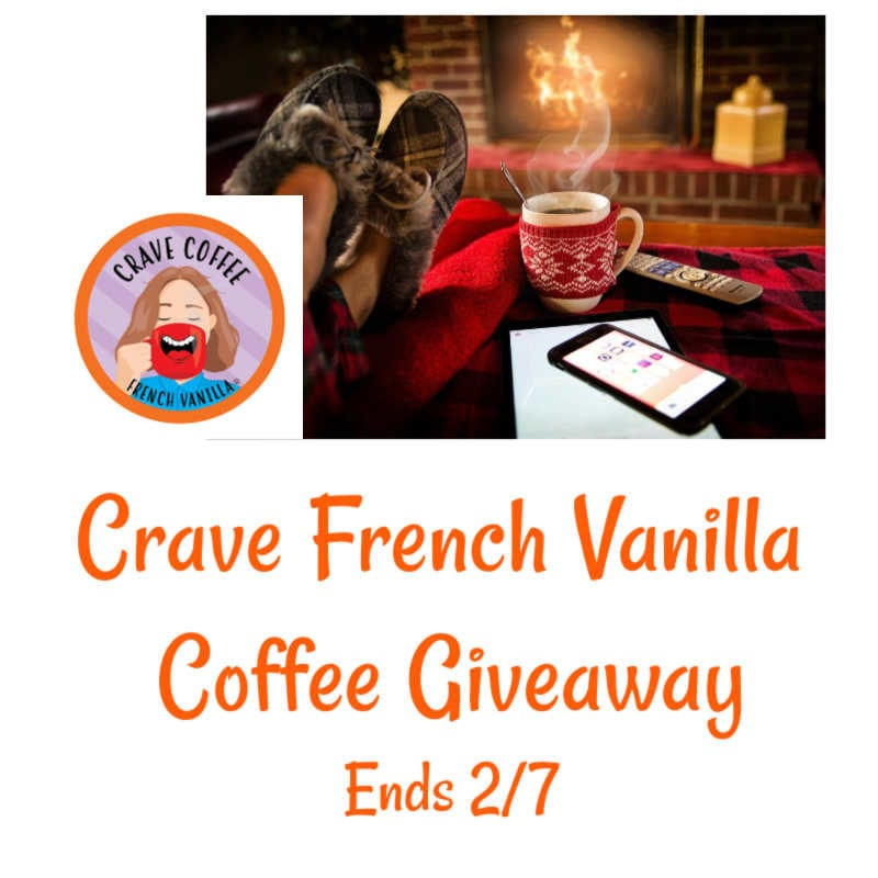 Crave French Vanilla Coffee Giveaway ~ Ends 2/7 @BrooklynBeans1 @las930 #MySillyLittleGang
