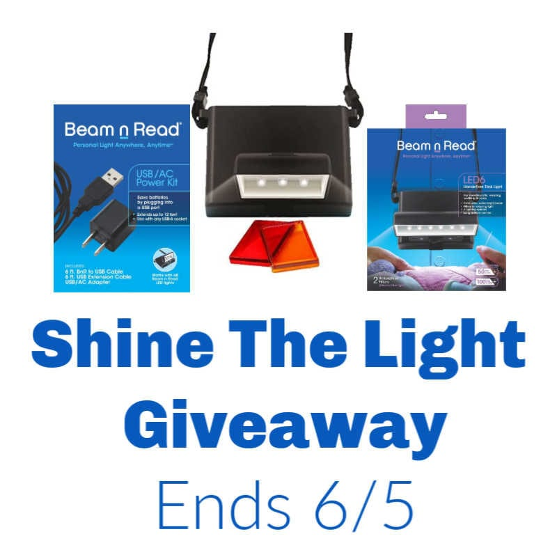 Shine The Light Giveaway ~ Ends 6/5 @las930 #MySillyLittleGang