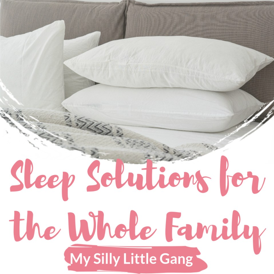 Sleep Solutions for the Whole Family @HylandsHealth @headleveler @PeachSkinSheets @doctorwisewomen #Everydaze @JustCbd #MySillyLittleGang