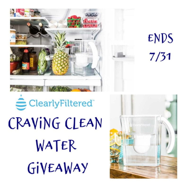 Craving Clean Water Giveaway ~ Ends 7/31 @clearlyfiltered @las930 #MySillyLittleGang