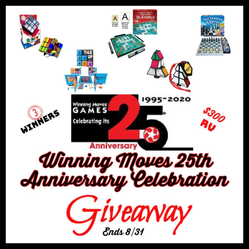 Winning Moves 25th Anniversary Celebration Giveaway ~ Ends 8/31 @WinningMovesUSA @las930 #MySillyLittleGang
