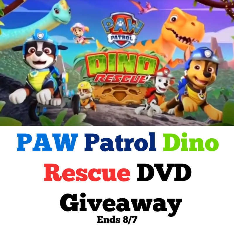 PAW Patrol Dino Rescue DVD Giveaway ~ Ends 8/7 @Nickelodeon @las930 #MySillyLittleGang