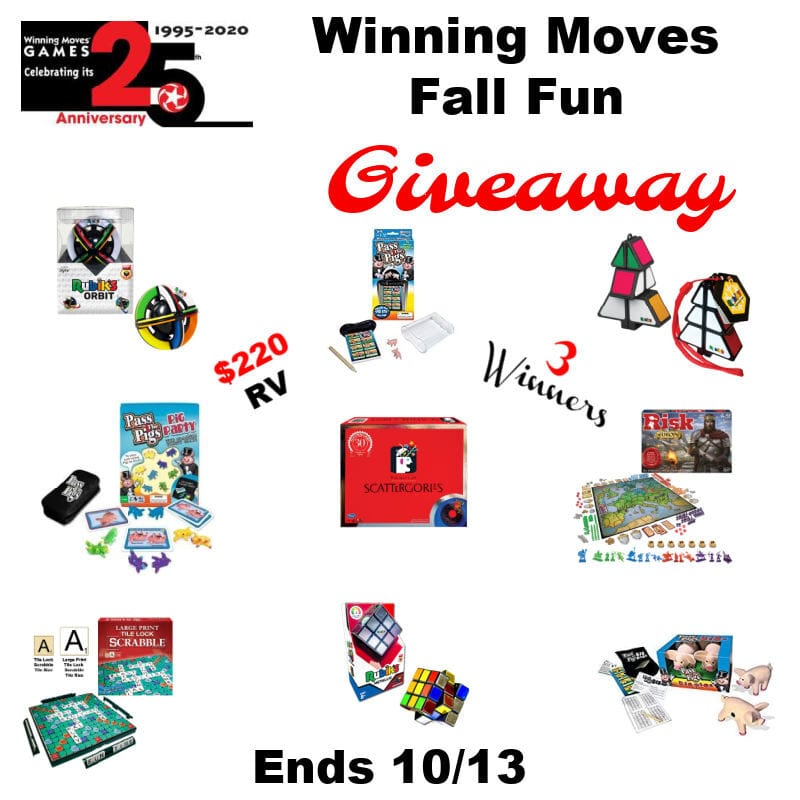 Winning Moves Fall Fun Giveaway ~ Ends 10/13 @WinningMovesUSA @las930 #MySillyLittleGang