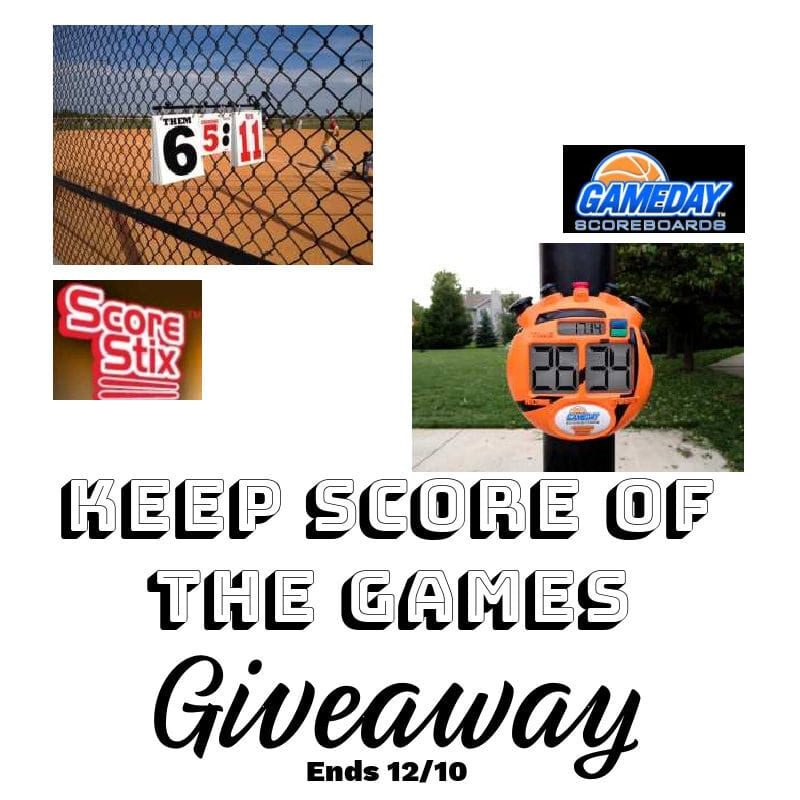 Keep Score Of The Games Giveaway ~ Ends 12/10 @las930 #MySillyLittleGang