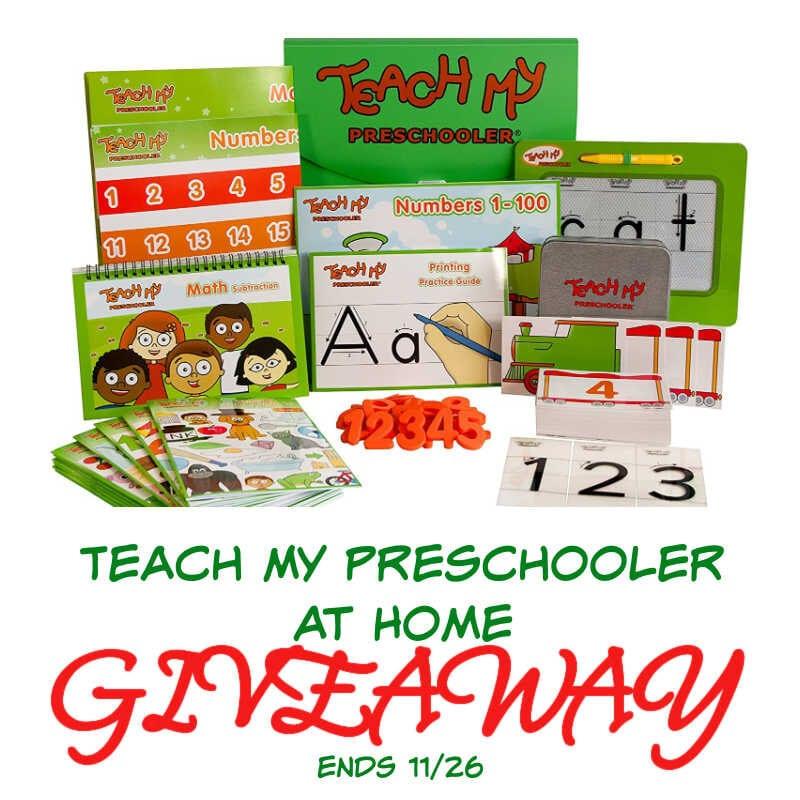 Teach My Preschooler At Home Giveaway ~ Ends 11/26 @teachmy @las930 #MySillyLittleGang