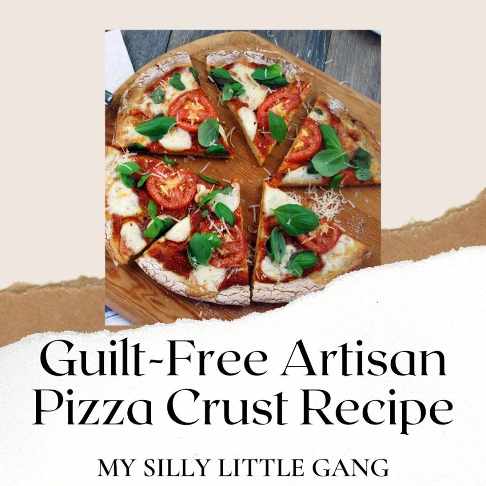 Guilt-Free Artisan Pizza Crust Recipe ~ @PamelasProducts #MySillyLittleGang