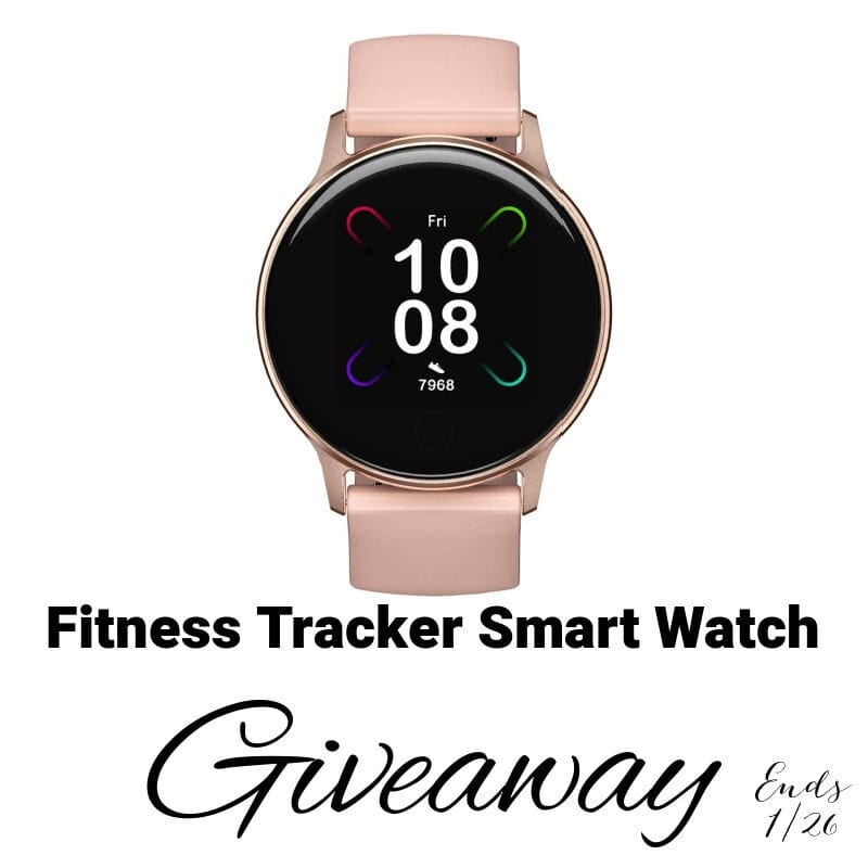 Fitness Tracker Smart Watch Giveaway ~ Ends 1/26 #umidigi @las930 #MySillyLittleGang