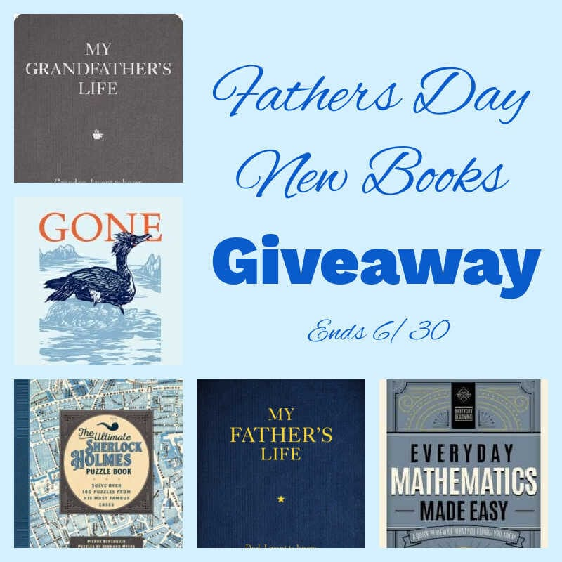 Fathers Day New Books Giveaway ~ Ends 6/30 #MySillyLittleGang