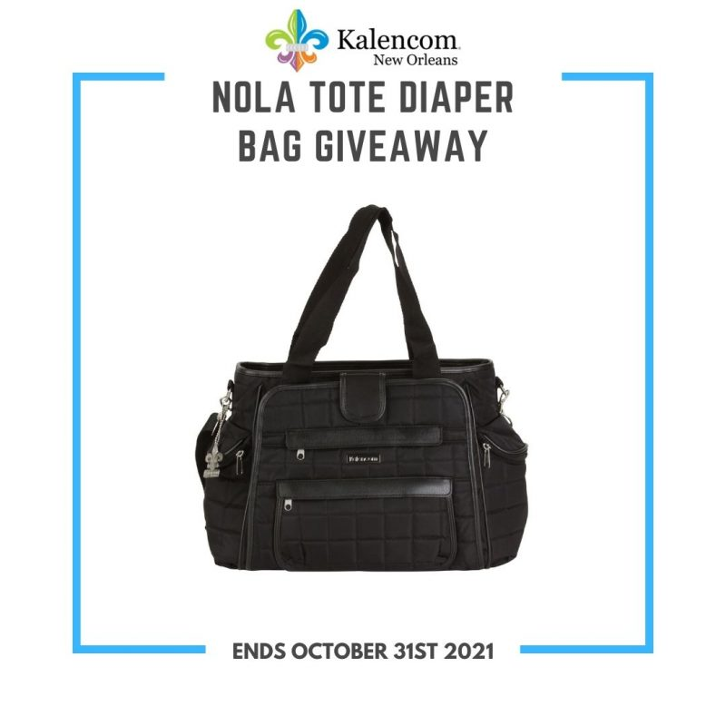 Nola Tote Diaper Bag Giveaway ~ Ends 10/31 #MySillyLittleGang
