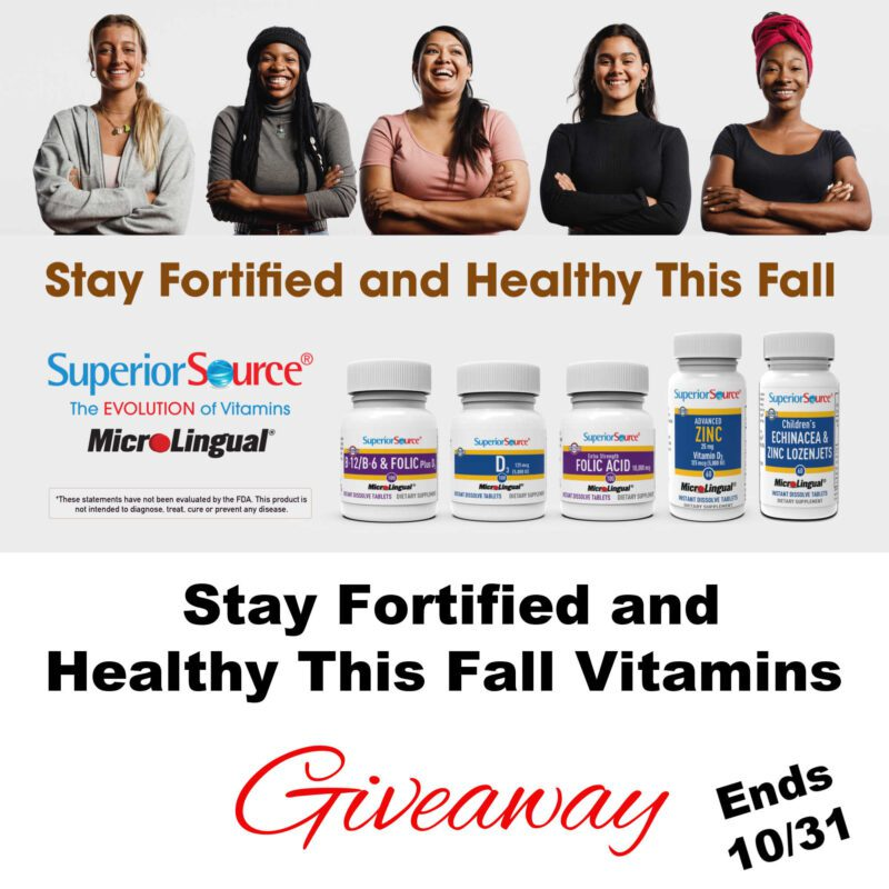 Stay Fortified and Healthy This Fall Vitamins Giveaway ~ Ends 10/31 #MySillyLittleGang