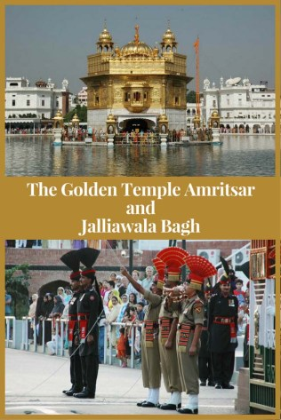The Golden Temple Amritsar and Jalliawala Bagh, India