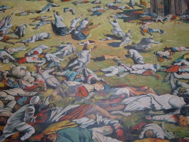 Jallianwala Bagh massacre depiction