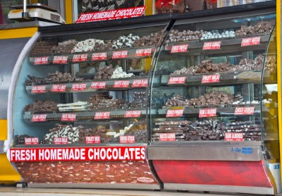 Chocolate shop in Ooty