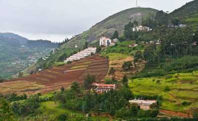 On the way to ooty