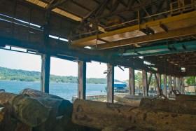Saw mill inside