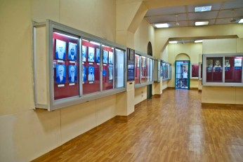 Gallery with pictures in Museum