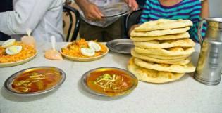 Biryani, Nihari and Khameeri roti