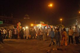 Market in front of Jama Masjid