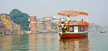 Dev Deepawali in Varanasi boats