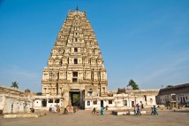 Virupaksha inside hampi village