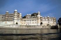 City palace from lake pichola